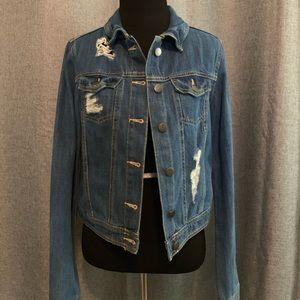 Forever 21 Contemporary Blue Denim Jacket